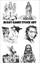 Zombie Stock Art - Zombie Art Starter Bundle - Clip art