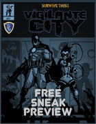 SURVIVE THIS!! Vigilante City - FREE SNEAK PREVIEW