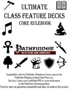 Ultimate Class Feature Decks - Core Rulebook