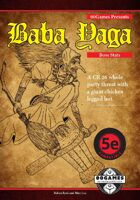 Baba Yaga Boss Stats (5E)
