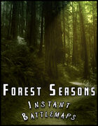Forest Seasons Battlemaps Pack