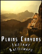 Plains and Mountains 4 Battlemaps Pack
