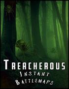Treacherous Zones 4 Battlemaps Pack