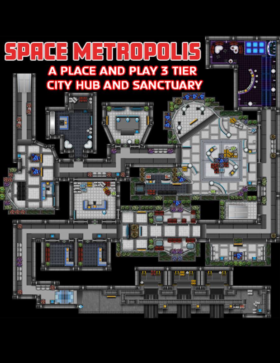 Space Metropolis: City of the Future
