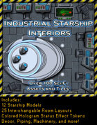 Industrial Starship Interiors