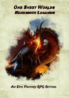One-Sheet Worlds: Behemoth Legends