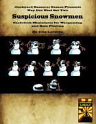 Way Out West Set Two: Suspicious Snowmen