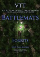 VTT Battlemap - Forests Map Pack