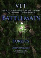 VTT Battlemap - Forests Map Pack