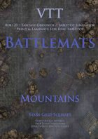VTT Battlemap - Mountains Map Pack