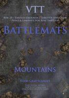 VTT Battlemap - Mountains Map Pack