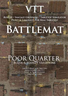 VTT Battlemap - Poor Quarter Map