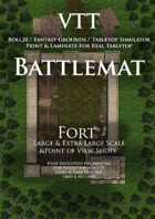 VTT Battlemap - Fort Map