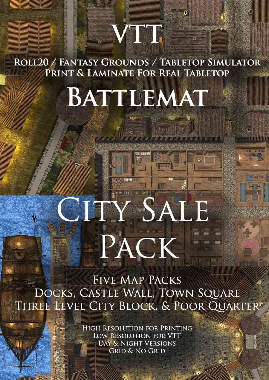 City Sale Pack