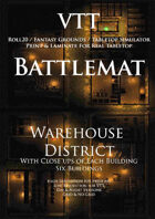 VTT Battlemap - Warehouse District