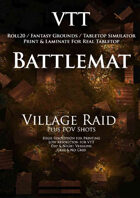 VTT Battlemap - Village Raid