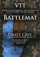 VTT Battlemap - Pirate Cave