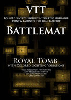 VTT Battlemap - Royal Tomb