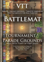 VTT Battlemap - Tourament/Parade Grounds