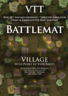 VTT Battlemap - Village