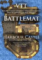 VTT Battlemap - Harbour Castle