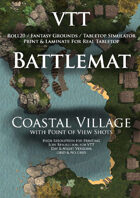 VTT Battlemap - Coastal Village