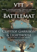 VTT Battlemap - Clifftop Garrison & Lighthouse