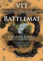 VTT Battlemap - Desert Oasis
