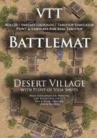 VTT Battlemap - Desert Village