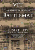 VTT Battlemap - Desert City
