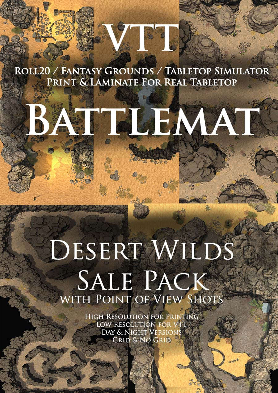 Desert Wilds Sale Pack