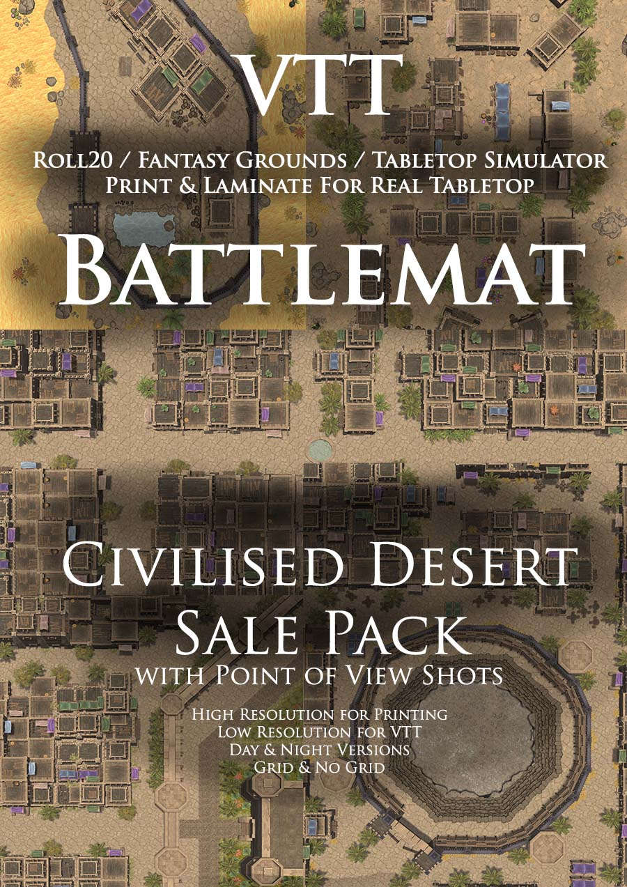 Civilized Desert Sale Pack