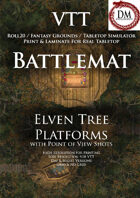VTT Battlemap - Elven Tree Platforms