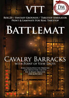 VTT Battlemap - Cavalry Barracks