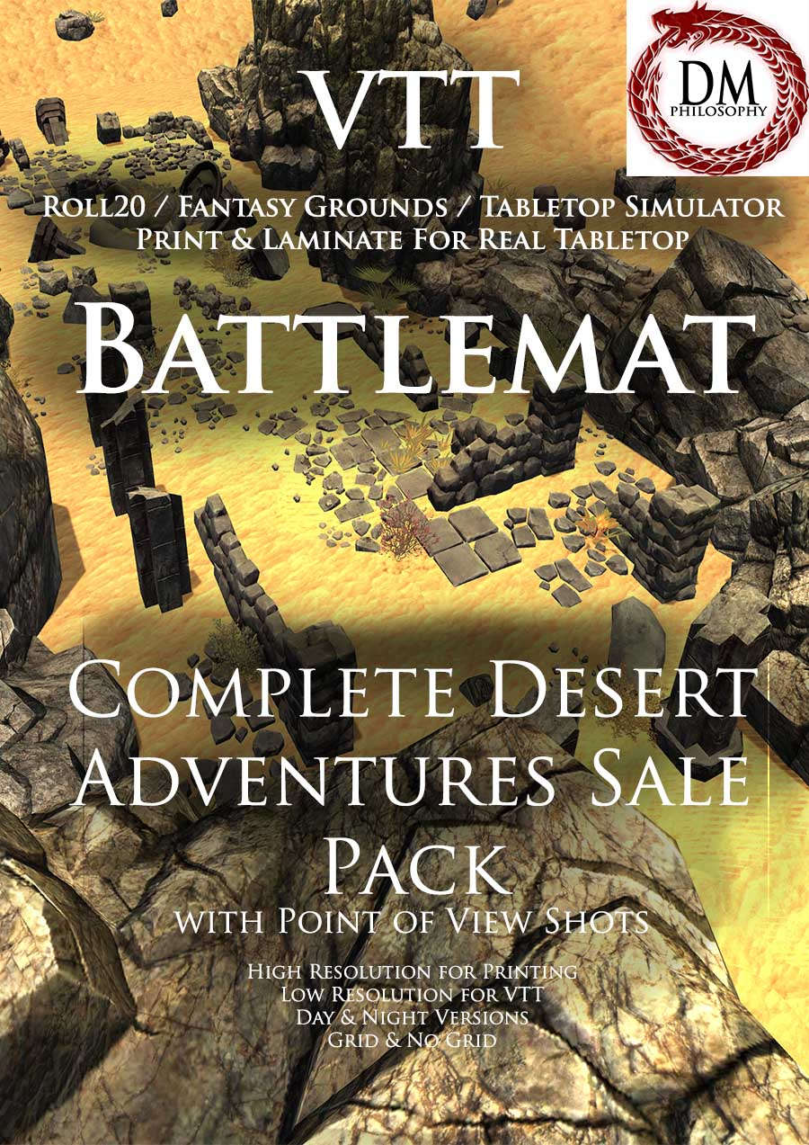 Complete Desert Adventures Sale Pack