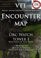 VTT Encounter Map - Orc Watch Tower