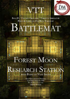 VTT Battlemap -  Forest Moon Research Facility