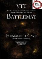 VTT Battlemap - Humanoid Cave