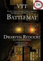 VTT Battlemap - Three Level Dwarven Redoubt