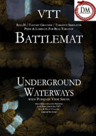 VTT Battlemap - Underground Waterways