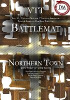 VTT Battlemap - Northern Town
