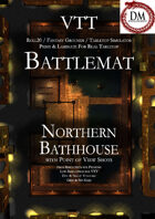 VTT Battlemap - Northern Bathhouse