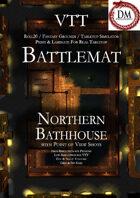 VTT Battlemap - Northern Bathhouse