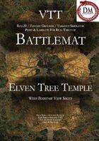 VTT Battlemap - Elven Tree Temple