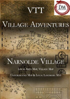 VTT Village Encounters -  Narnolde Village
