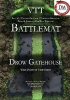 VTT Battlemap - Drow Gatehouse