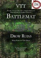 VTT Battlemap - Drow Ruins
