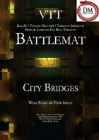 VTT Battlemap - City Bridges