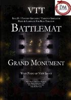 VTT Battlemap - Grand Monument