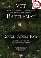 VTT Battlemap - Rough Forest Path